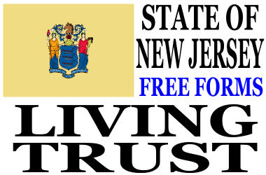 New Jersey Living Trust Forms