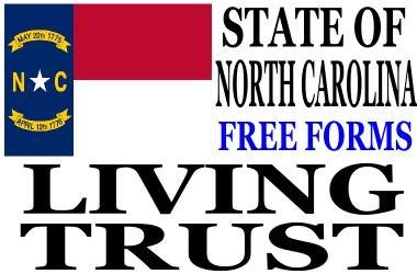 North Carolina Living Trust Forms