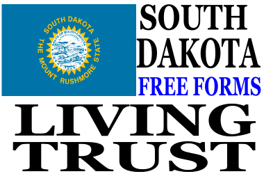 South Dakota Living Trust Forms