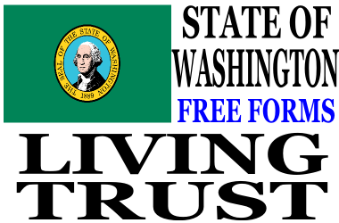 Washington Living Trust Forms