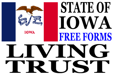 Iowa Living Trust Forms