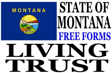 Montana Living Trust Forms