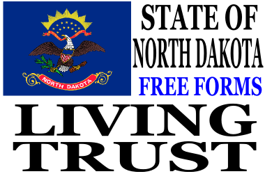 North Dakota Living Trust Forms