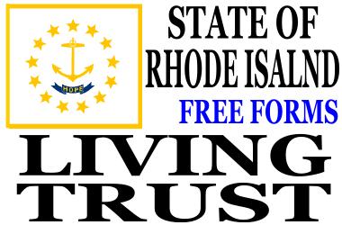 Rhode Island Living Trust Forms
